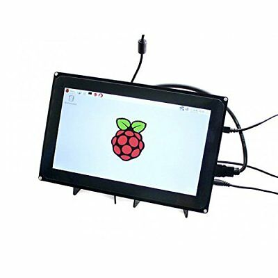 """Waveshare Raspberry Pi 10.1"""" & Case HDMI LCD 1024x600 Capacitive Touch Screen"""