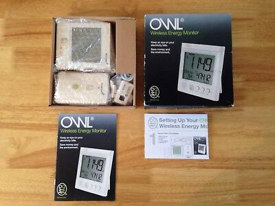 *PAT TESTED* Owl Wireless Energy Monitor BRAND NEW RRP-£60
