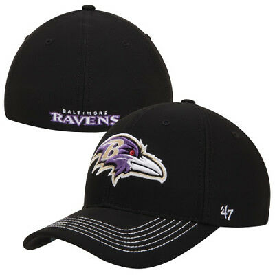 3ee273fca2a NEW NFL Baltimore Ravens  47 Brand Fitted Flex Hat SIZE L XL