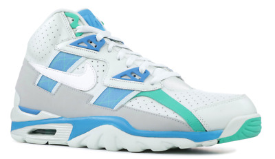 451112bb673 NIKE AIR TRAINER SC High Bo Jackson White Blue Men s Lifestyle Comfy ...