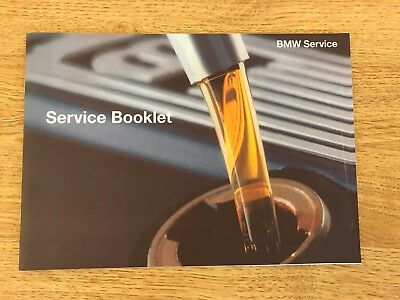Bmw Service History Book Brand New & Genuine, For All Petrol And Diesel Models..