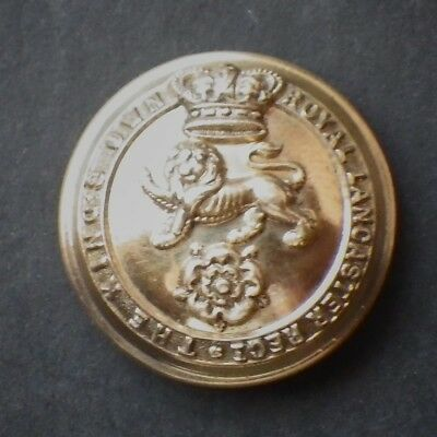 The Kings Own Royal Lancaster Regiment Victorian officers Large button