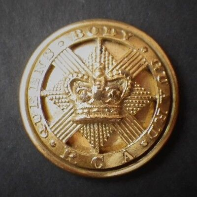 Victorian Large Button The Royal Company Of Archers - The Queens Bodyguard