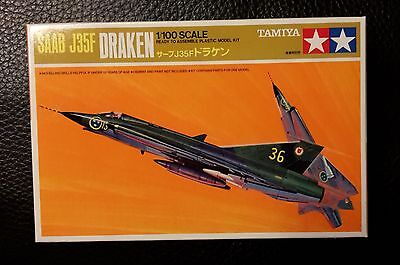 Draken J35F  Tamiya Mini Jet Series No 6  1/100