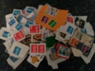 Genuine kiloware stamps ** Direct from charity ** loose paper 0.975kg