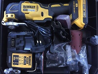 DeWALT DCS355 LI-ION XR BRUSHLESS CORDLESS MULTI-TOOL KIT+ 2 X BATTS BITS