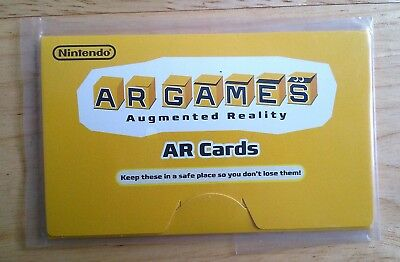 NINTENDO 3DS AR Games Cards (Augmented Reality Pack) - £4.95 ...