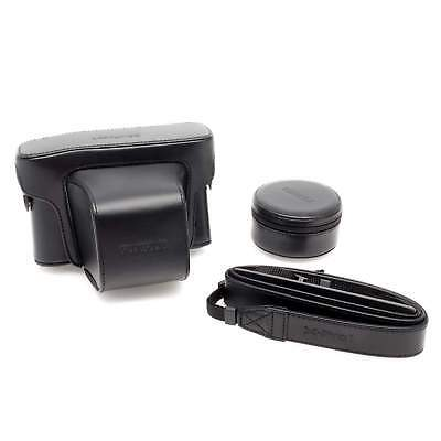 Fujifilm X-Pro 1 Premium Leather Camera Case Black