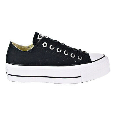 5f6a18c672c Converse Chuck Taylor All Star Lift Ox Women s Sneaker Shoes Black White  560250C