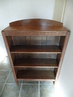 Solid Oak Bookcase Early/mid 1900's (Le65)
