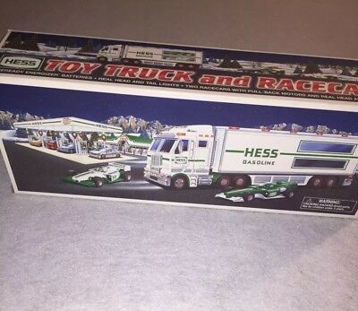 2003 Hess Toy Truck And Race Cars New Condition In BoxNew