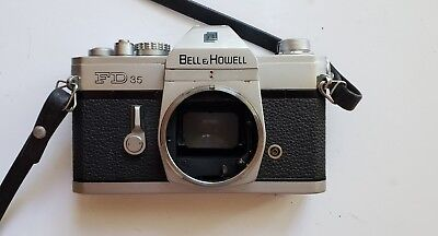 Canon Bell & Howell FD 35mm Film Camera Body Vintage Camera