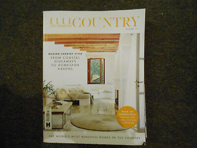Elle Decoration Country Vol.10 Slight Crease To Cover