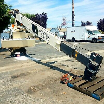437B National Crane, 37' boom, 20,000 lbs, Great working condition