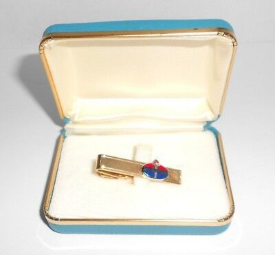 Vintage American Oil Co. 1/20 12K G.F. Tie clasp and Presentation Box