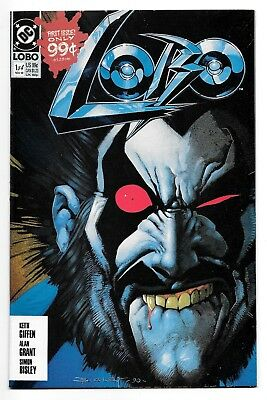 Lobo #1 (11/90 Dc) Vf/nm (9.0) First Print! Mini-Series! Keith Giffen/alan Grant