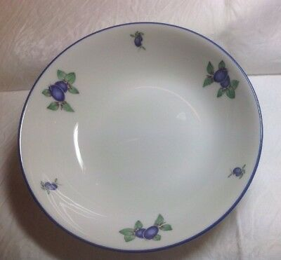 ROYAL Doulton Everyday Blueberry, Fine China 1 X Soup/cereal Bowl 17cm