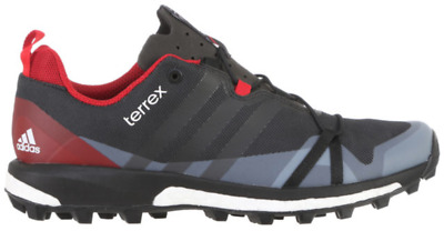 half off b1ecd 12989 Adidas Mens Terrex Agravic GreyBlackRed Trail Running Sneakers Shoes  AF6134