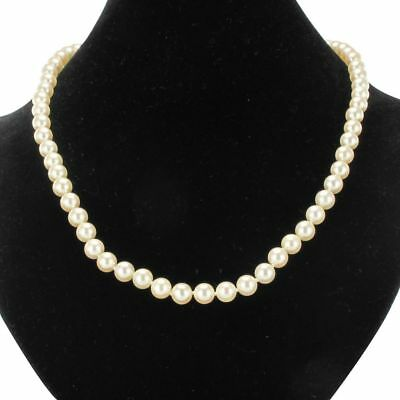 Necklace of beads Akoya 18K rose Gold Vintage Classic Necklace