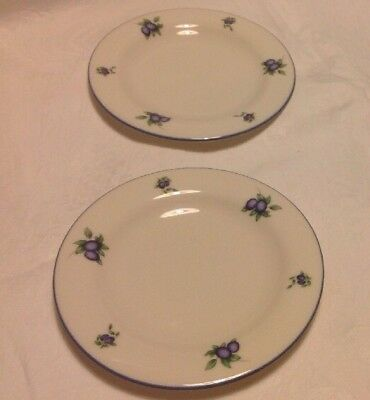 ROYAL Doulton Blueberry, Fine China, Everyday 2 X Side Tea Plate