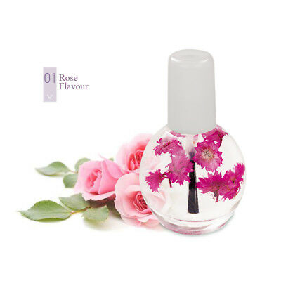 12ML Nail Cuticle Nutrition Replenishing Oil Lavender Scent Dried Flower Novelty