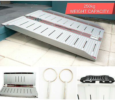 Portable Aluminium Folding Loading Access Wheelchair Ramp Scooter Van 4 Sizes
