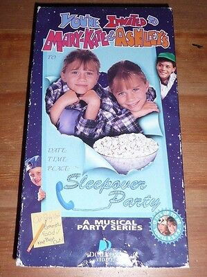 Mary Kate Ashley Olsen Vhs Lot You Re Invite The Adventures Of