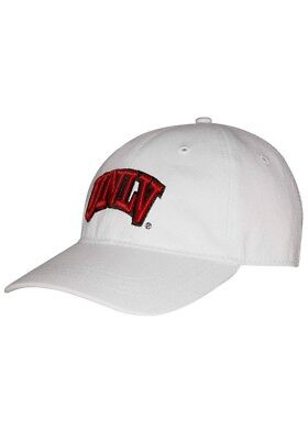 low priced d36ea 66d09 Ouray Sportswear NCAA UNLV Rebels Small Fit Epic Cap, Adjustable Size, White