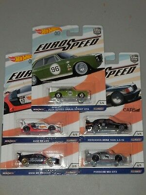 2018 Hot Wheels Car Culture Eurospeed Flc19 1 64 Scale Complete