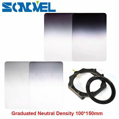 100mm*150mm series Graduated ND2/4/8/16 Neutral Density Square Filter+Holder