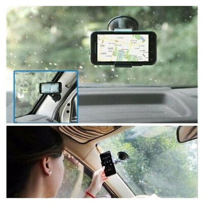 Universal 360° Rotating Car Accessories Phone Windshield Mount GPS Holder Black