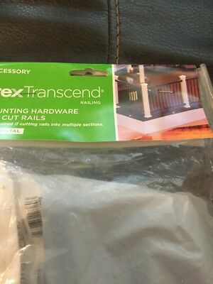 NEW Trex Transcend Mounting Hardware For Cut Rails