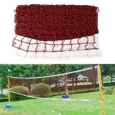 6.1X0.79m Training Standard Braided Badminton Replacement Net Netting AU