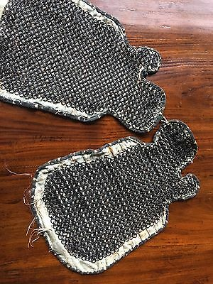 19th Cent Japanese Samurai Armor Hand Protecter