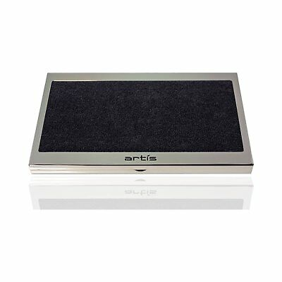 Artis Brush Cleaning Pad Metal Clutch and Microfibre Cloth
