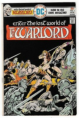 WARLORD #1 (FN) 1st Issue Collectors Item! Mike Grell Story & Art! DC 1976