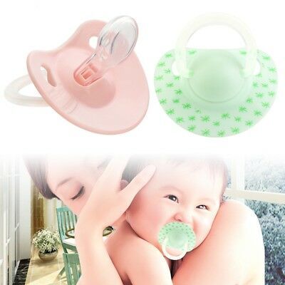 Baby Infant Supply Soft Silicone Orthodontic Nuk Pacifier Nipple Sleep Soother