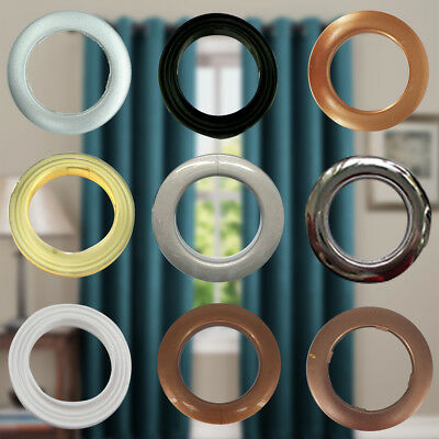 42mm 10pcs Plastic Rings Curtain Eyelets for Craft Home Decoration Accessory DIY