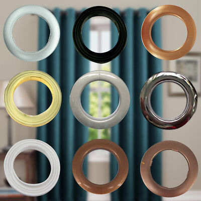 42mm x 10 Curtain Plastic Rings Eyelets Rings for Home Decoration Accessory DIY