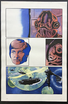 Star Wars Dark Empire I Issue 2 page 2 CAM KENNEDY original comic art artwork