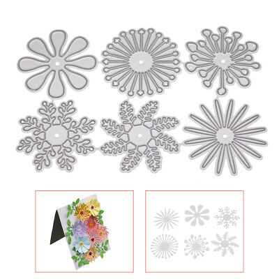 DIY Carbon Steel Flower Cutter Dies Handmade Molding Cutting Template Craft Die