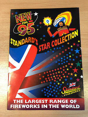 Standard Fireworks Catalogue 1995 Rare