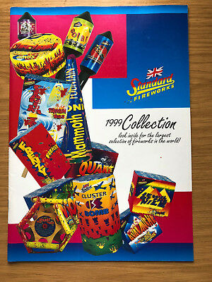 Standard Fireworks Catalogue 1999 Rare