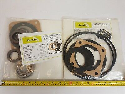 Remko T080-PU-BRKT Bearing Kit and T080-PU-GSKT Gasket Kit for RT080 pump - New