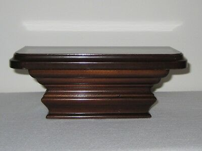 The Bombay Company Small Wall Console Floating Wood Home Display Shelf