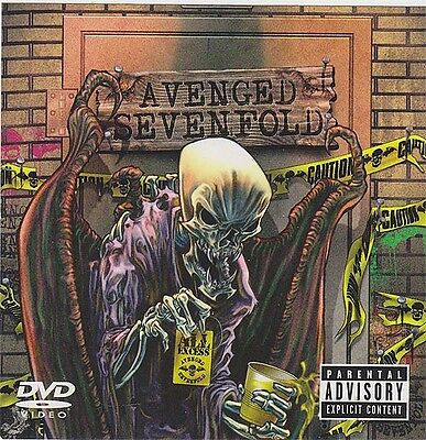 Avenged Sevenfold All Excess RARE promo sticker '07