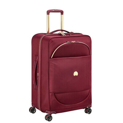 NEW Delsey Montrouge Expandable Spinner Case Red 69cm