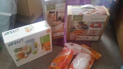 Infantino Avent Baby Infant Food Travelling Bundle BNIP