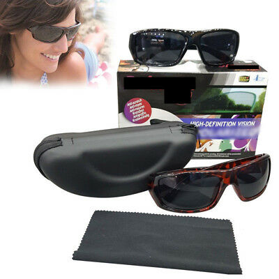 2 In 1 Box Polaryte Hd Sunglasses Anti Scratch Useful For Cycling Driving
