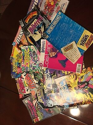 Dc Comics From Late 80s To Early 90s Cosmic Boy Wonder Woman Etc
